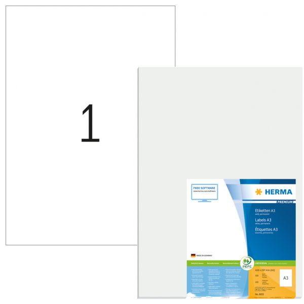 HERMA Papier, Folien, Etiketten 8692 4