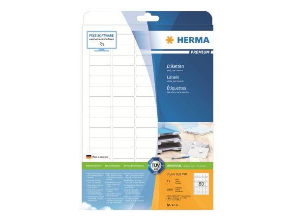 HERMA Papier, Folien, Etiketten 4336 1