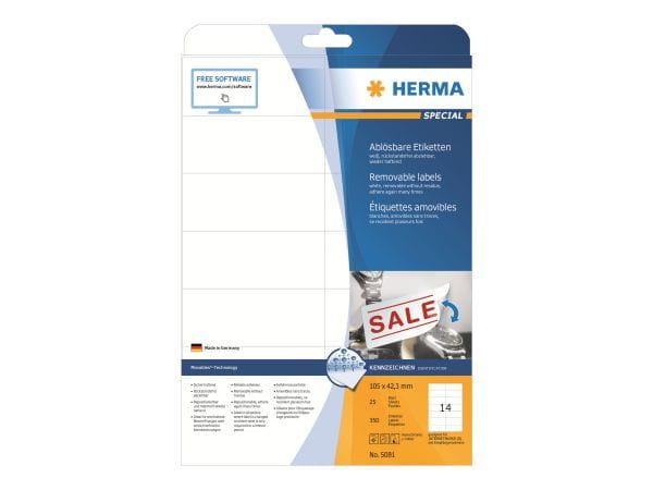 HERMA Papier, Folien, Etiketten 5081 1