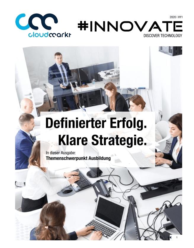 Cloudmarkt Innovate'20 Infobroschüre