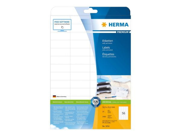 HERMA Papier, Folien, Etiketten 5052 1