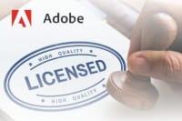 Adobe Lizenzierung