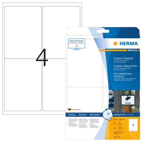 HERMA Papier, Folien, Etiketten 9534 4