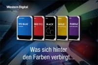 Was bedeuten die Farben der WD HDDs?