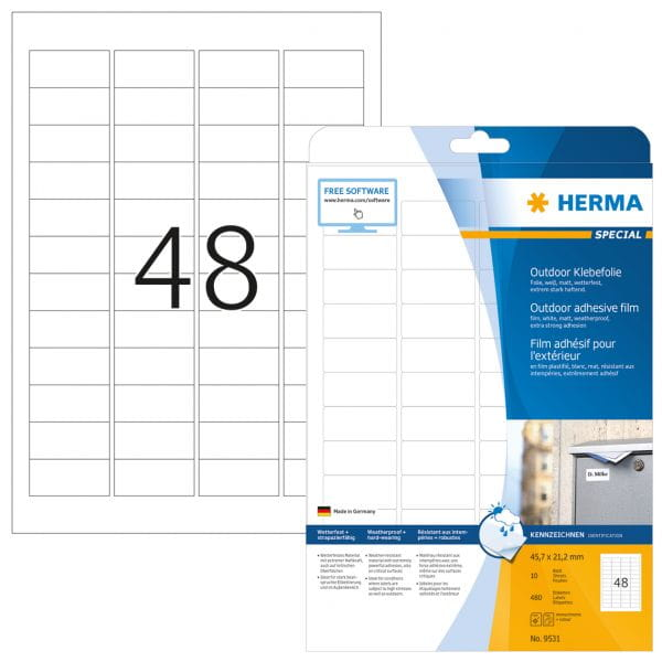 HERMA Papier, Folien, Etiketten 9531 4