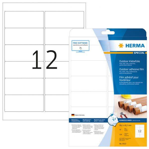 HERMA Papier, Folien, Etiketten 9533 3