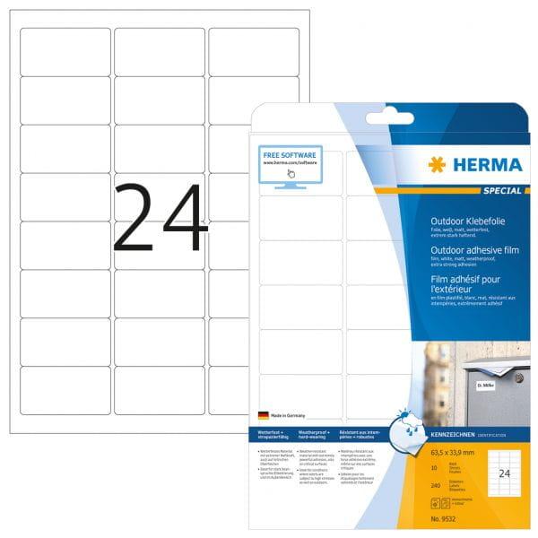 HERMA Papier, Folien, Etiketten 9532 4