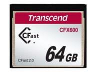 Transcend Speicherkarten/USB-Sticks TS64GCFX600 1
