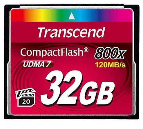 Transcend Speicherkarten/USB-Sticks TS32GCF800 3